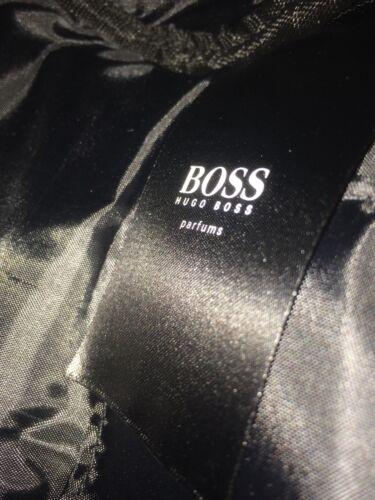 HUGO BOSS Washbag Mens Shave Toiletry Pouch Holiday Shaving Bag Grey GENUINE NW