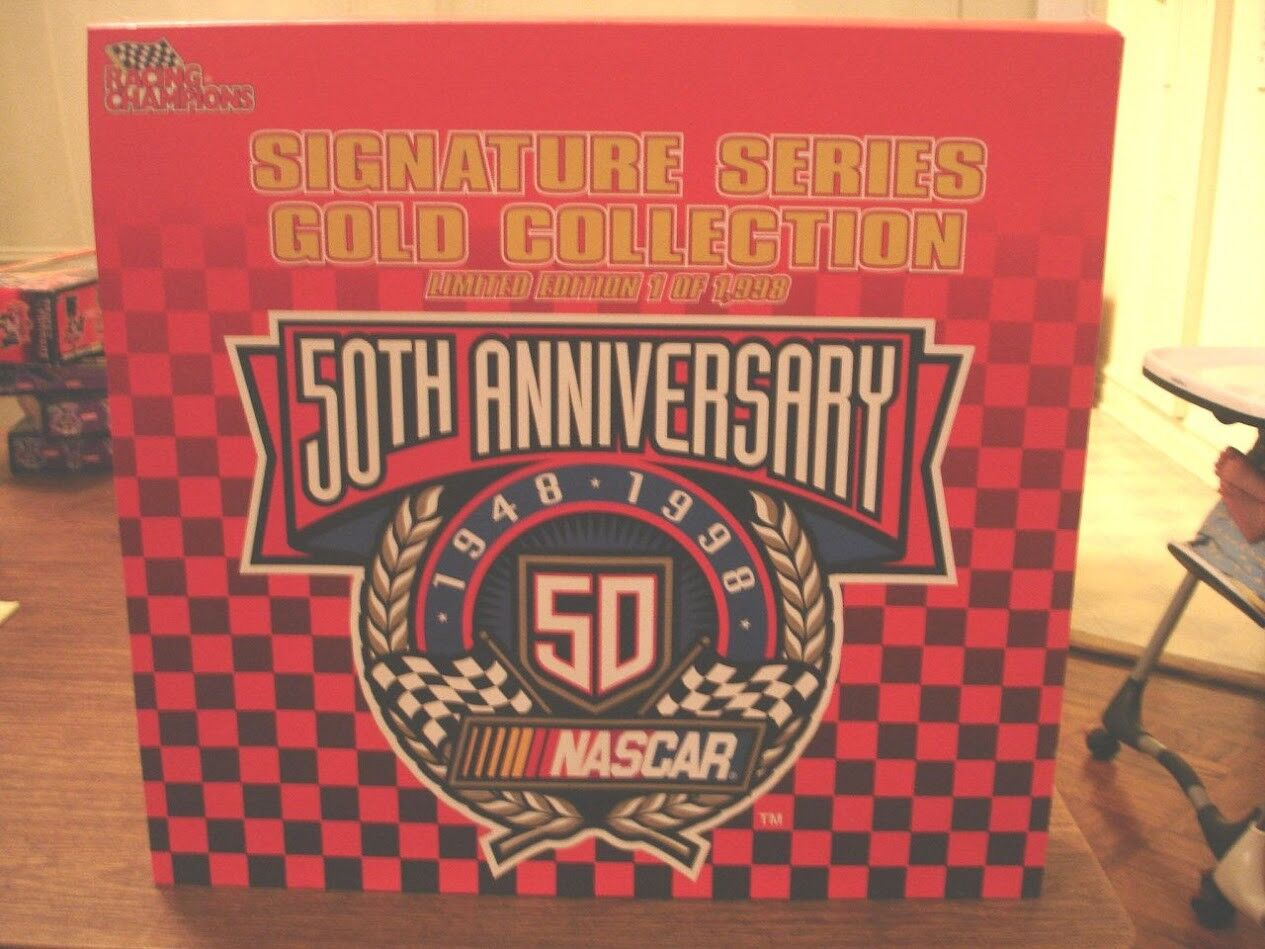 1 64 Racing Champions 50th Anniversary Signature Series gold Collection