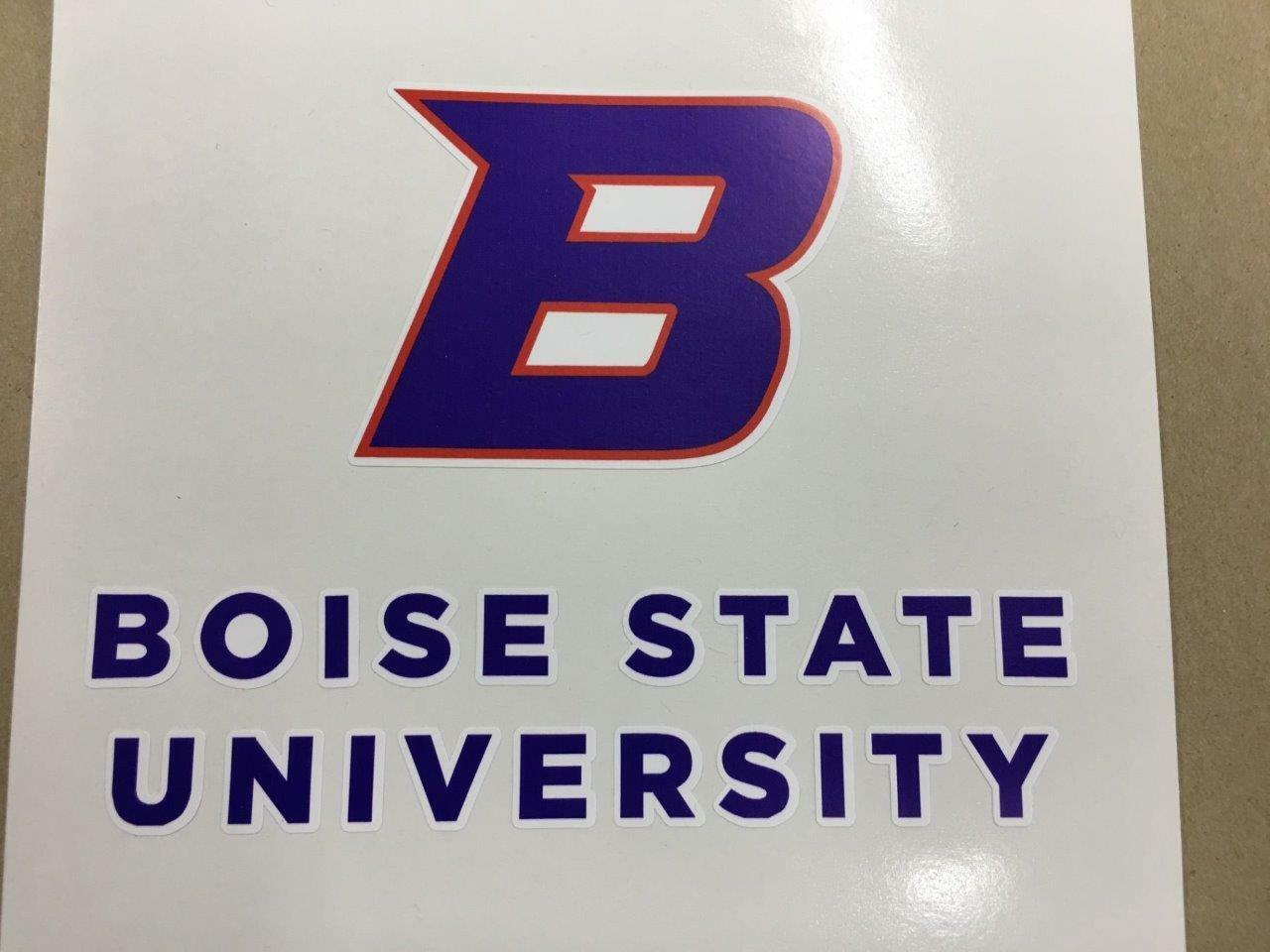 Boise  State cornhole board or vehicle decal(s)BS4  latest styles