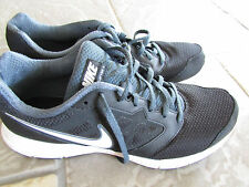 NIKE DOWNSHIFTER RUNNING ATHLETIC SHOES SNEAKERS MENS 9.5 #684652 BLACK FREE SHI