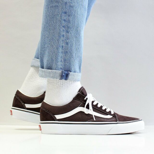 2cb47fce96db VANS Old Skool Skate Shoes Men s Size 13 Chocolate Torte for sale ...