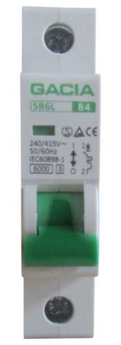 Sicherungsautomat MCB Leitungsschutzschalter SB6L 1P B4A