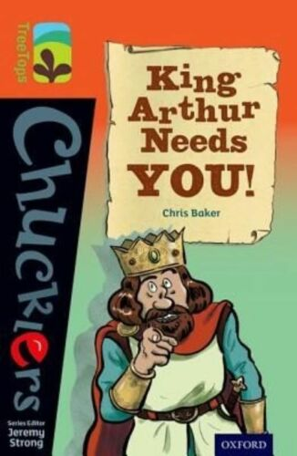 1 of 1 - Oxford Reading Tree TreeTops Chucklers: Level 13: King Arthur Needs You! by Bake