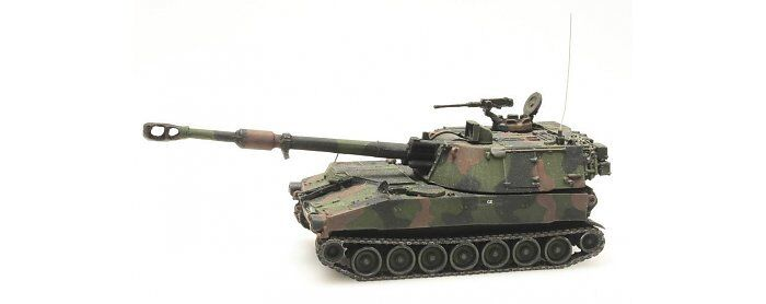 Artitec 6870129 - 1 87   H0 M109A2 - Nato Tarnung - Niederländische Armee - Neu  | Deutschland Shop