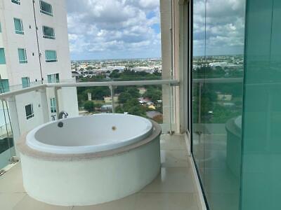 Departamento en Renta AMUEBLADO, 2 Recámaras, Jacuzzi, en Cancún Towers, Av. Bonampak, Puerto Cancún