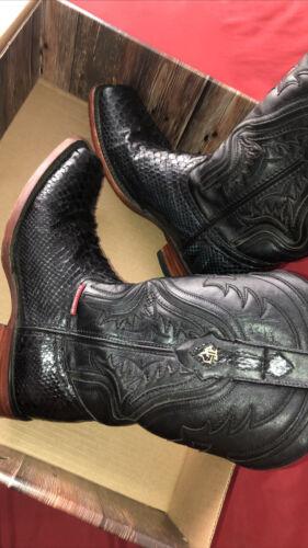 snakeskin boots 9