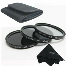 49mm ND2 ND4 ND8 Neutral Density Camera Lens Filter Kit For Sony Nikon Canon