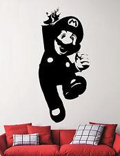Super Mario Vinyl Sticker Video Game Wall Decal Nintendo Art Nursery Decor 6eedc