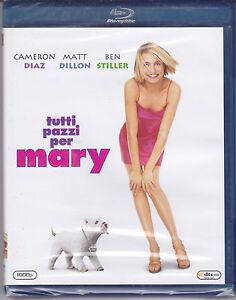 Blu-Ray-Todos-Locos-Per-Mary-con-Cameron-Diaz-Ben-Stiller-Nuevo-1998
