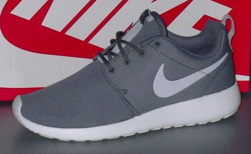 WMNS NIKE ROSHE ONE in colors COOL GREY   PURE PLATINUM SIZE 6