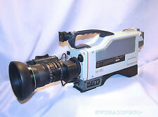 SONY DXC-3000 3CCD Professional Video Camera w/Canon TV Zoom Lens w/quick zoom