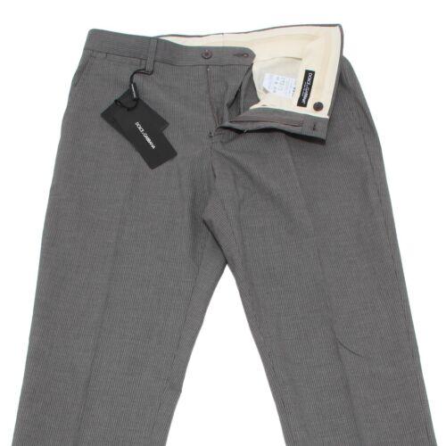 Pantaloni Dolce Trousers gabbana Pants Grigio g D 6732i Men Uomo Rigato RdZ1aw