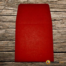 250 2x2 Red Paper Coin Envelopes - Acid and Sulpher Free - Safe for Coins