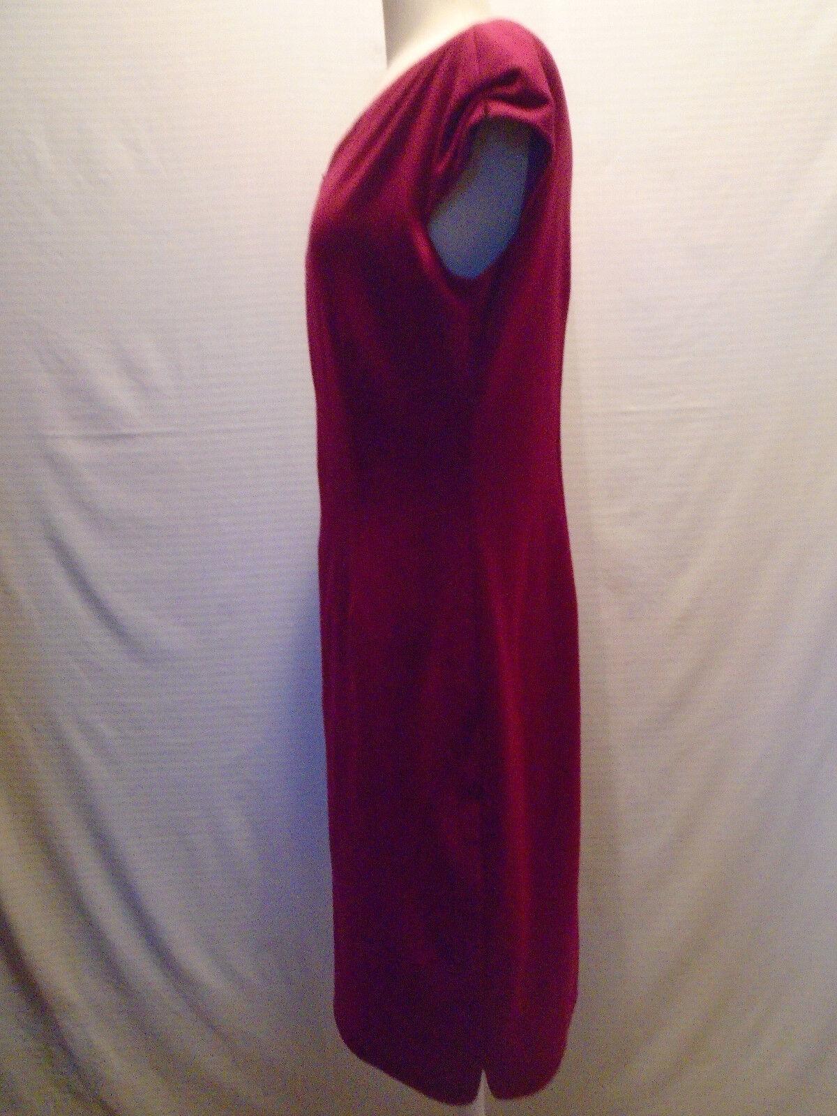 Tahari Woman's Woman's Woman's Purple  Dress Size 10 719c10