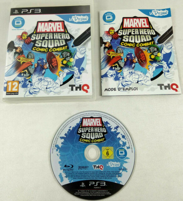 Jeu Playstation 3 PS3 VF Marvel Super Hero Squad Comic Combat notice Envoi suivi