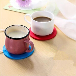 Details About 5v Usb Silicone Heat Warmer Heater Tea Coffee Mug Hot Drinks Beverage Cup Gl