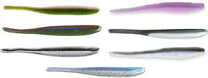 Roboworm Alive Shad 4 inch Drop Shot Bait Bass Fishing Finesse Soft Jerkbait