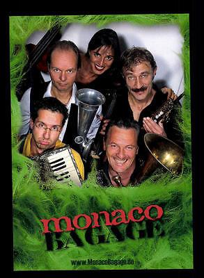 Sammeln & Seltenes Original, Nicht Zertifiziert Offen Monaco Bagage Autogrammkarte Original Signiert ## Bc 67796 Noch Nicht VulgäR
