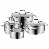 Wmf Merano 7-piece 18/10 Stainless Steel Cookware Set on sale
