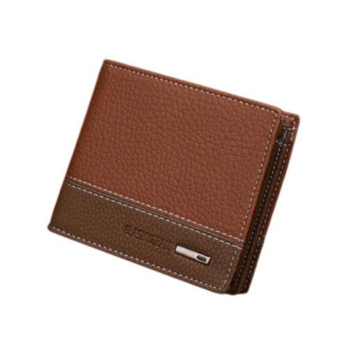 Billeteras de Hombre Billeteras de Cuero para Hombre Cuero Genuino Piel Modernas