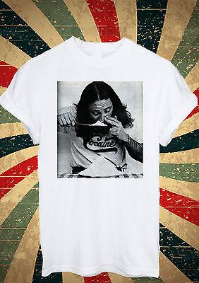 Cocain Guy Boy Drug Funny Heroin T Shirt Men Women Unisex 1365