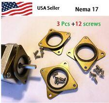 Nema 17 Steel /& Rubber Dampers Stepper Motor DIY 3D Printer Damper Free Ship*JB