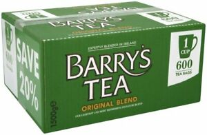 Barry's Tea ORIGINAL BLEND 1-Cup Tea Bags (Box of 600)  - SOLD BY DSDELTA IRE