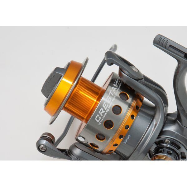 Akios Cresta AK90 Fixed Spool Spinning Reel 66lb Drag for Sharks and Jigging