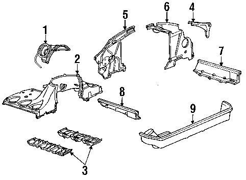 porsche 911 air duct for engine cooling fan ebay rh ebay com
