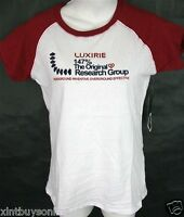 Luxirie By Lrg T- Shirt 147% The Original Research Group Crimson 100% Cotton