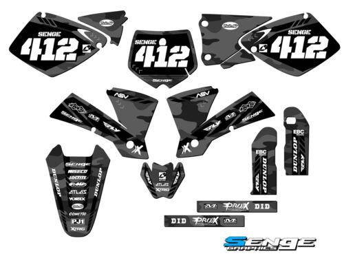 2003 pour KTM MXC 525 Graphique Kit Déco Stickers Stickers Senge