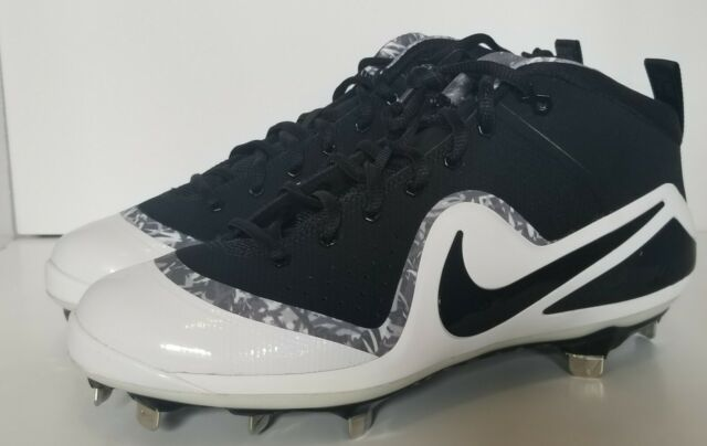 Nike Force Zoom Trout 4 Mid Metal Baseball Cleats Size 11 for sale ... 7fc652af9