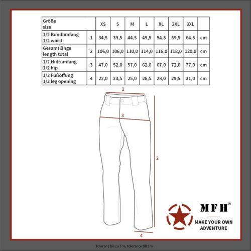 Details about  /MFH Pantalones Hombre Da Campo Americanos Acu Rip Parada At-Digital