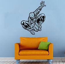 Spider Man Wall Decal Comics Super Hero Vinyl Sticker Home Wall Decor (001sm)