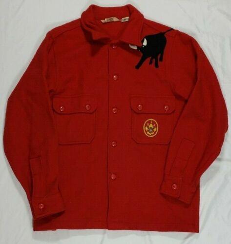 Boy Scout Red Wool Jacket Men's Size 42 Philmont B