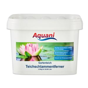 Haustierbedarf Unter Der Voraussetzung Aquani Teichschlammentferner 2.500g Wirkt Gegen Teichschlamm Im Gartenteich Erfrischung