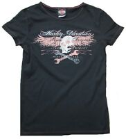 Bravado Official HARLEY DAVIDSON Merchandise Size 1903 Skull Vintage T-Shirt M