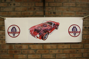 AC Cobra BANNER Ford 427 Workshop Garage or Classic Car display use Shelby