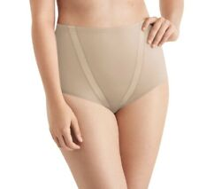 Nylon, Plain Maidenform Ladies Tummy Toning Briefs 3-Pack