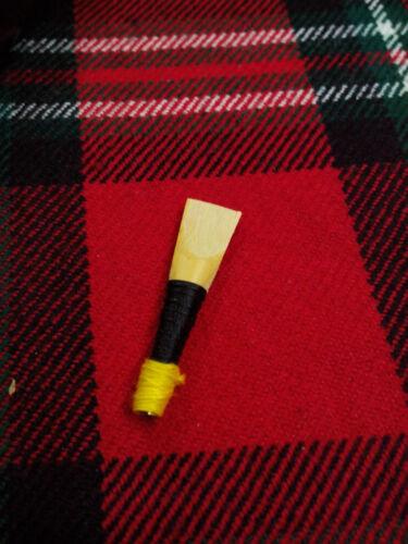 Reed TC Great Highland Dudelsack Pfeife Chanter Schwarze Farbe