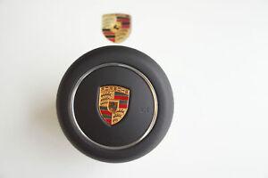 Porsche 991 981 970 971 95B 958 Deckel Airbag Lenkrad Armaturenbrett Leder ARU6