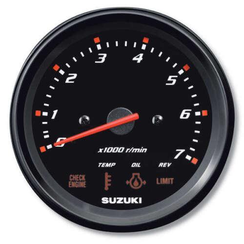 "Suzuki Outboard Parts 4/"" Multifunction Tachometer Monitor Gauge 34200-93J00"