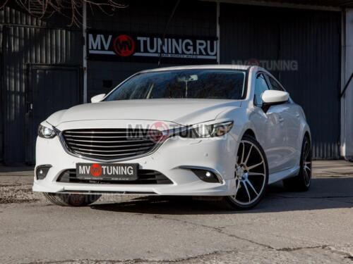 Atenza GJ 2015-2017 after Facelift Vorne Riemen für Grill für Mazda 6
