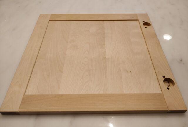 Ikea Bjorket Birch Cabinet Door Sektion Kitchens 18wx15h Tan Shaker Solid Wood