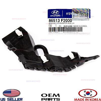 New Genuine Hyundai Bracket-Fr Bumper Side,Rh 86514F2000 OEM