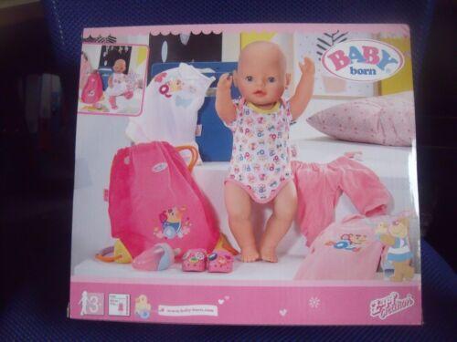 NUOVO CON SCATOLA Zapf Creation Baby Born Vestiti 4 Pezzi Set-Plus Scarpe /& Bottiglia