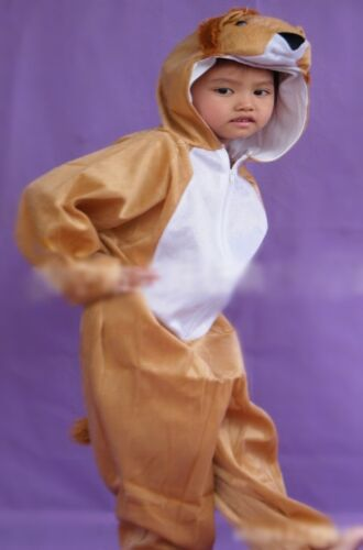 Children Kids Animal Character Costume Lion Fancy Dress Outfit 3 4 5 6 7 8 years