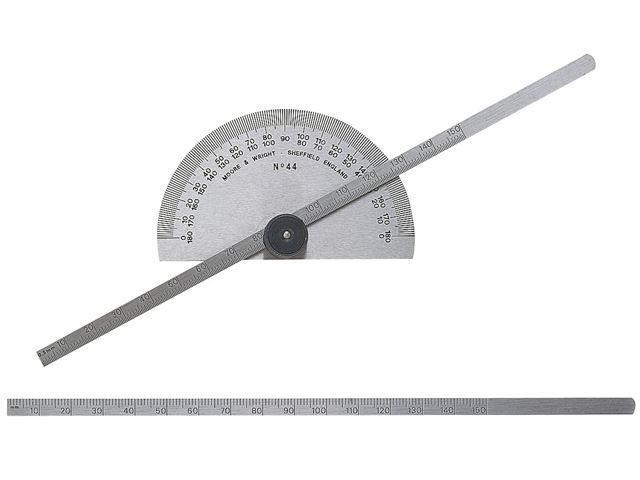 Moore & Wright - Protractor Type Depth Gauge Metric