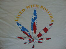 Vintage 90's HASH BASH 1995 weed smoke pot cronic tour RARE T Shirt XL