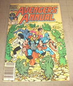 AVENGERS Annual #13 (1984) Good Condition Comic - Hulk Times a Hundred - Byrne